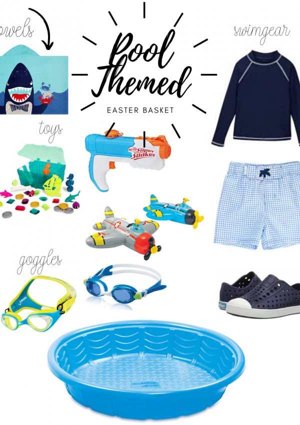Pool Themed Easter Basket Ideas