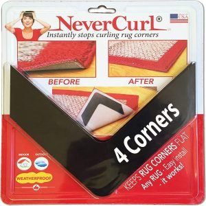 NeverCurl Rug Corners My Amazing Amazon Friday Finds You'll Love