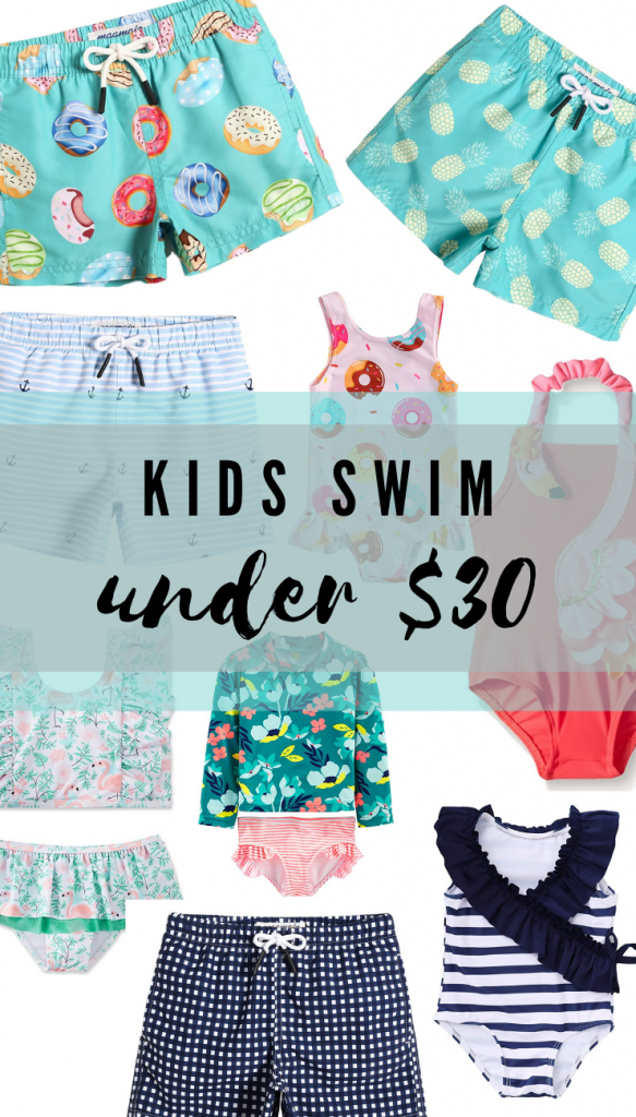 Trendy Swimwear for toddler girls and boys